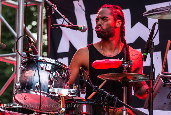 Courtney Jr, drums, New Kingston