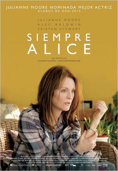 Siempre Alice : Cartel