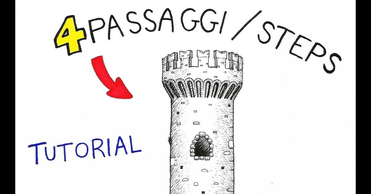 I più condivisi! √ Come Disegnare Un Castello Medievale ...