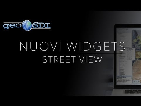 Nuovi Widgets: Street View