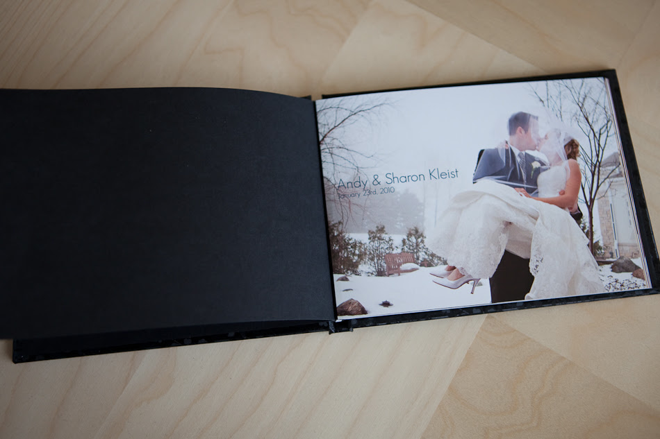 Jenn Van Wyk Photography 5x7 Mini Wedding Album