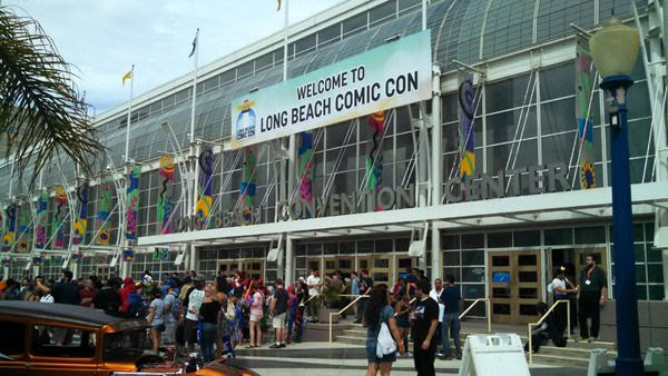 At the Long Beach Convention Center for Long Beach Comic Con...on September 12, 2015.