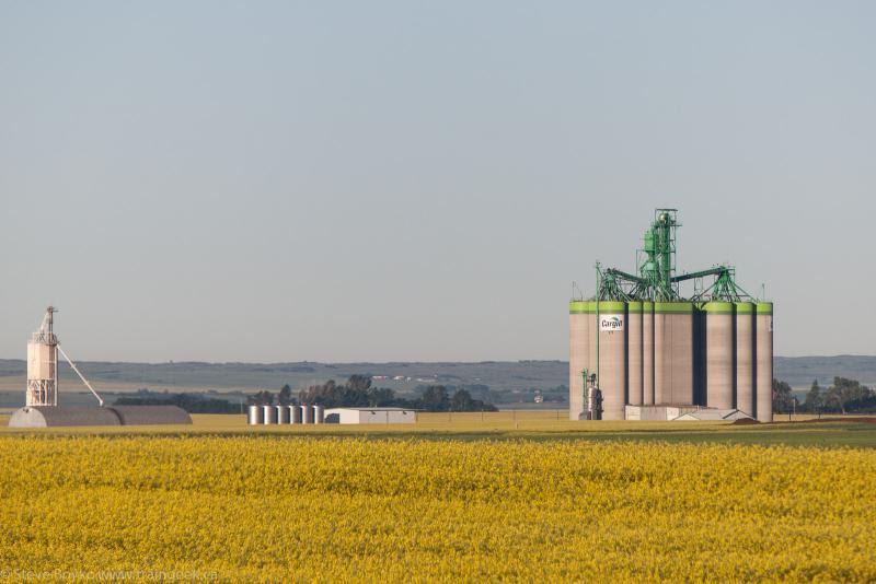 Cargill grain elevator, Moose Jaw