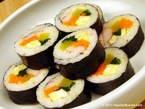 Kimbap của nước Hàn
