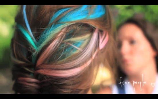 Μαλλιά ουράνιο τόξο (26)
