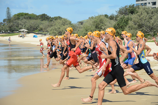 2015 Mooloolaba ITU Triathlon World Cup Men - 2015 Mooloolaba Triathlon Multi Sport Festival, Sunshine Coast, Qld, AUS; Saturday 14 March 2015. Photos by Des Thureson - http://disci.smugmug.com. Camera 1.