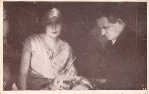 Nathalie Kovanko & Nicolas Koline in La dame masquée