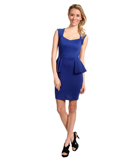 Cheap Brigitte Bailey Lindz Peplum Dress Royal