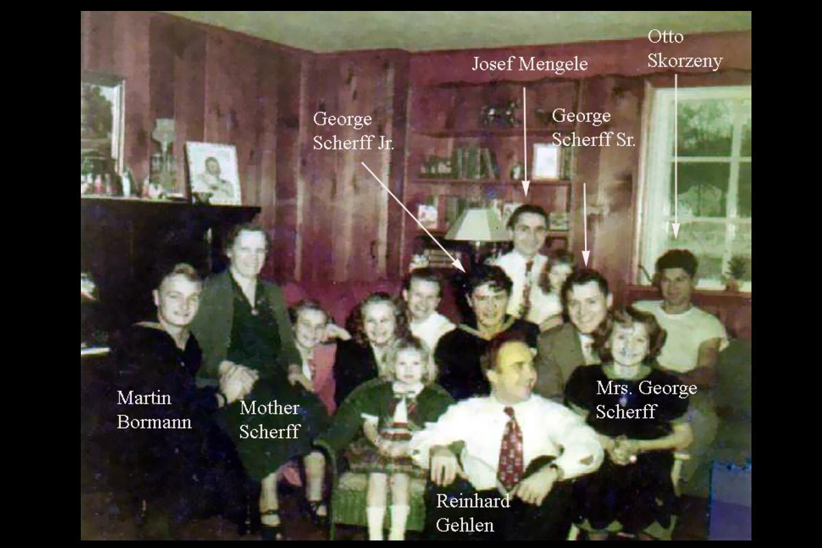 1938 group George H.W. Bush NAZI