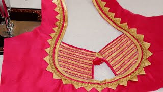 Blouse Ke Gale Ki Design Bataye Best Blouse 2018