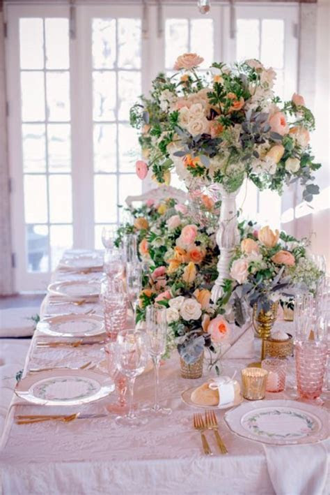 My Wedding Decor in creamy and peach colors   Interior