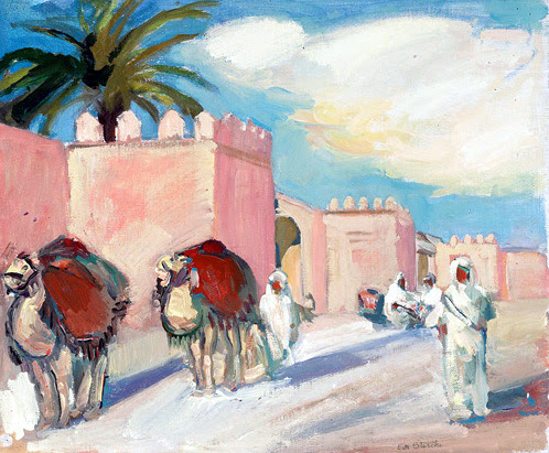 A Street In Tunis