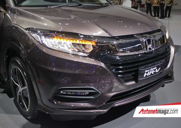 Honda HR-V Facelift 2018 Meluncur, Wajah Baru Tanpa Tambahan Fitur oleh - hondahrv.xyz