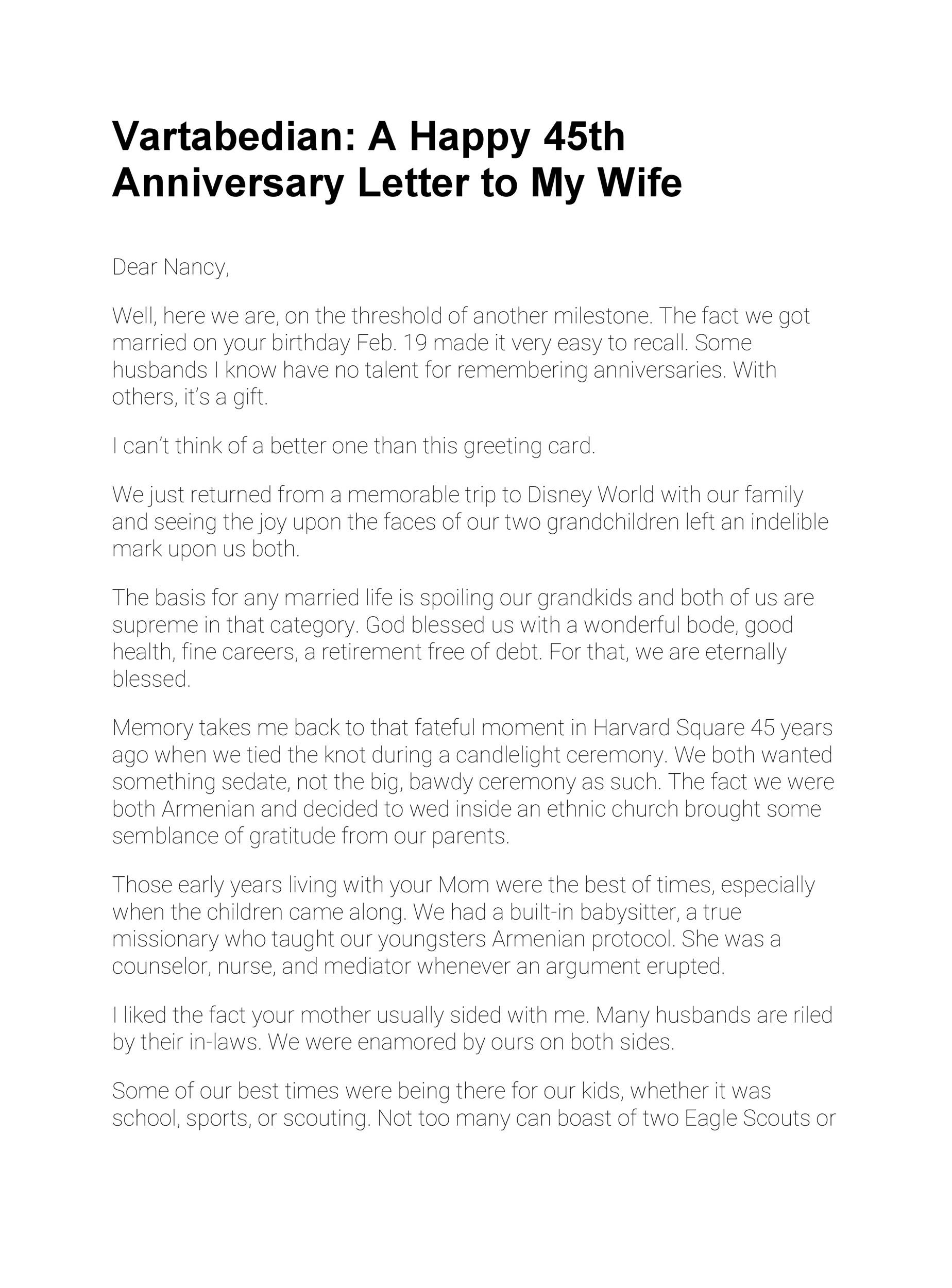 Anniversary Letter To My Husband.Happy 8 Month Anniversary Letter Langolocreativoditoti