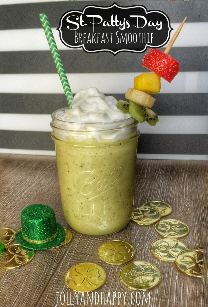 St. Patty's Day Breakfast Smoothie