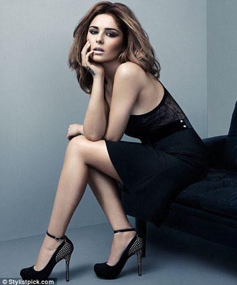 Esforço anterior: primeira coleção de sapatos de Cheryl incluiu esses seus calcanhares Hotness Real