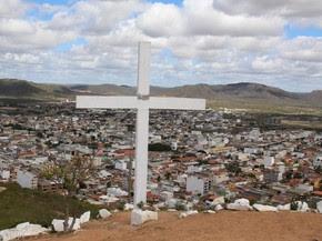 Cruzeiro Novo em Arcoverde, no Sertão de Pernambuco (Foto: Teresa Padilha/Assessoria)