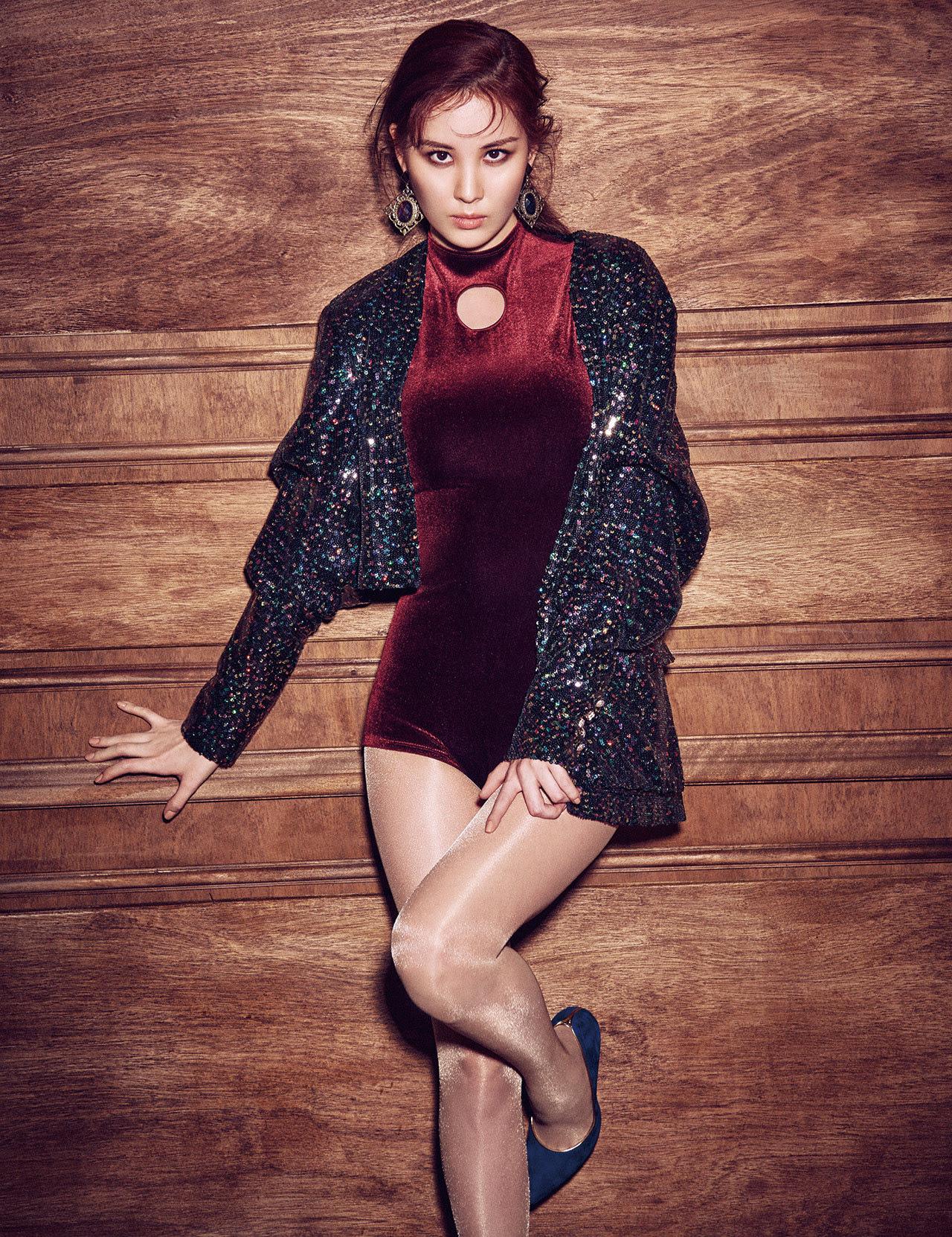 Seohyun (SNSD) - Harper's Bazaar Magazine March Issue '17