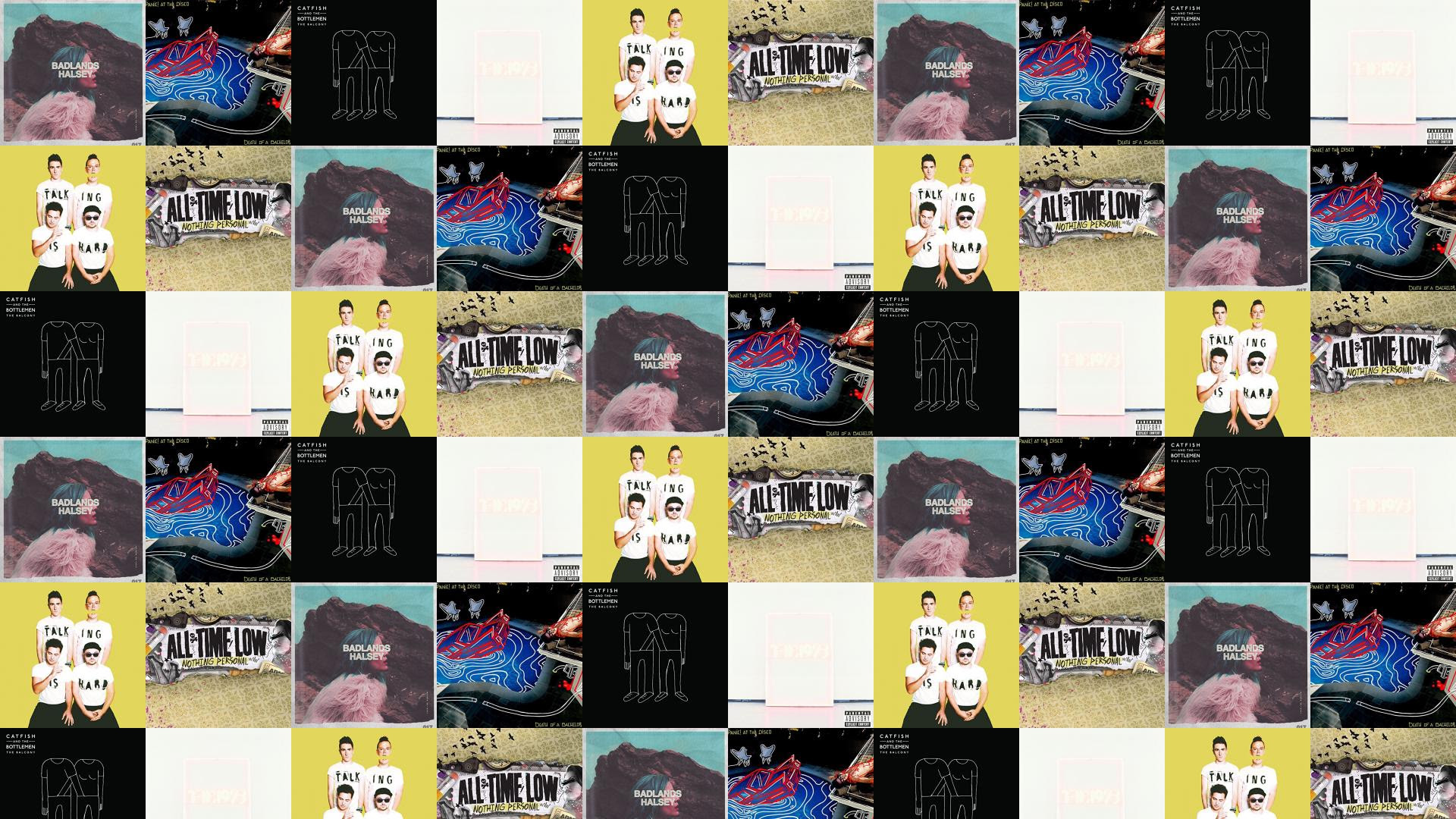 Halsey Badlands Panic At Disco Death Bachelor Catfish Wallpaper
