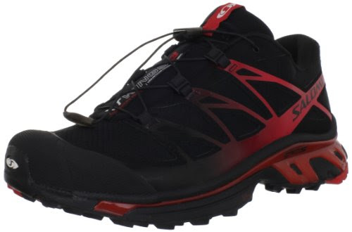 Salomon XT Wings 3 Men-Black Bright Red-M: US 9.5 / UK 9 / JP 27.5