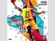 NBA 2015 All Star Starters Artwork on Behance