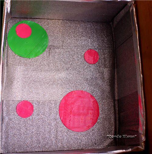 Duck Tape Circle design
