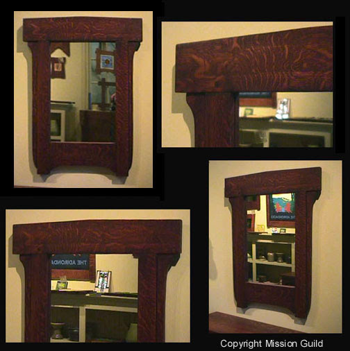 Mission Arts And Crafts Frames And Mirrors Mission Guild Studio