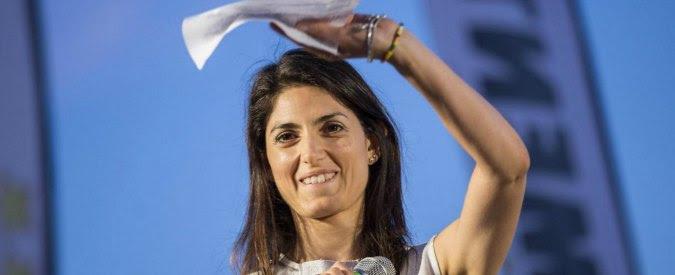 """Elezioni Roma 2016, Raggi: """"Ecco la mia autocertificazione su incarichi Ausl"""". Pd: """"Viola silenzio elettorale e mente"""""""
