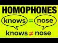 500+ American English Homophones