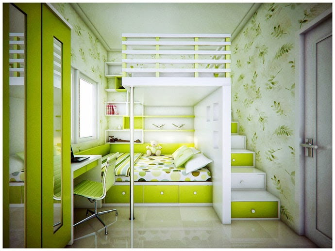 30 Green, Cool and Creative Play Room Design Inspirations | DesignRulz