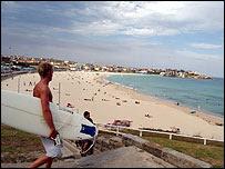 La playa Bondi