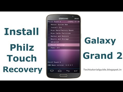 Philz Touch Recovery For Galaxy Grand 2 G7102