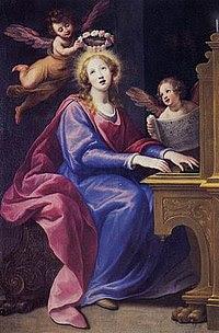 Santa Cecilia (1615-20), Matteo Rosselli.jpg