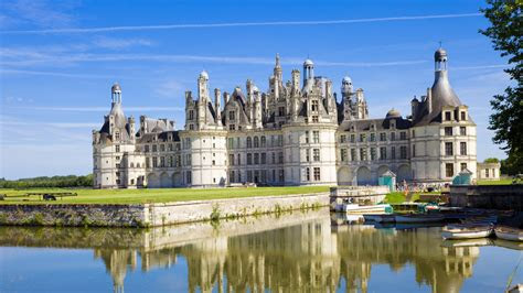 full hd wallpaper chateau de chambord castle loire river