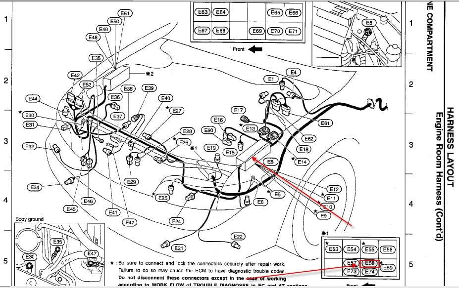 2001 Infiniti I30 Wiring Diagram