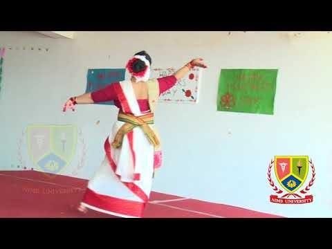 Indian Folk Dance Performance | Sreyashi Ghosh | Dance Competition