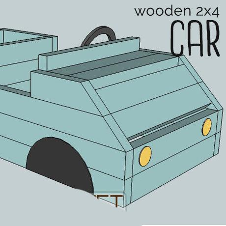 wooden 2x4 toy car build plans