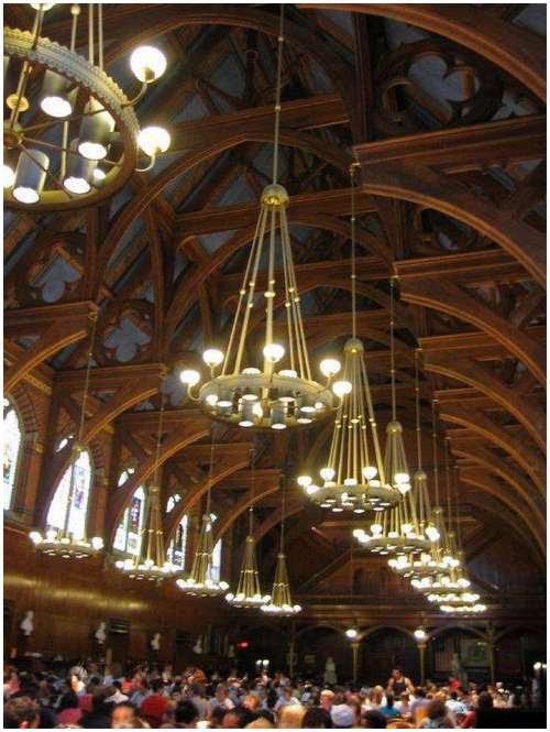 Foto-Foto Kantin Harvard University