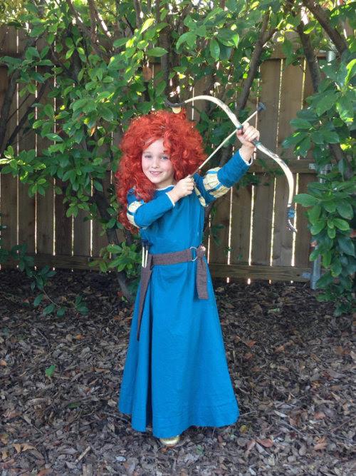 Disney Brave Merida dress (via Lady Herndon on etsy)