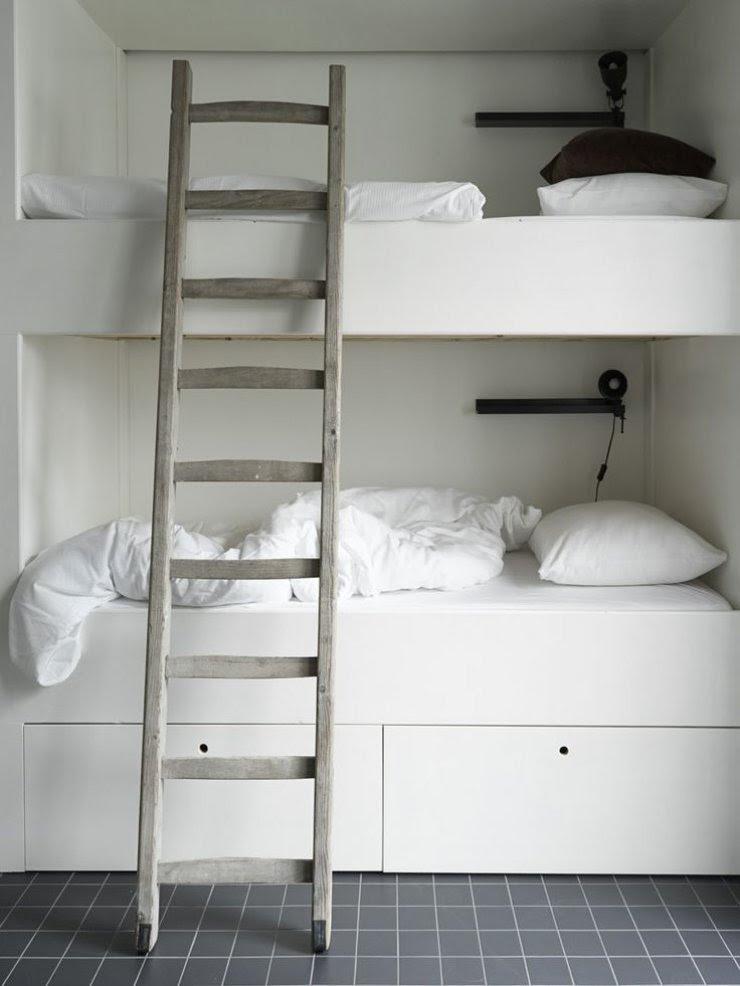 minimalistic bunk bed