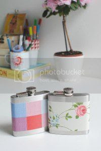 customised hip flask diy