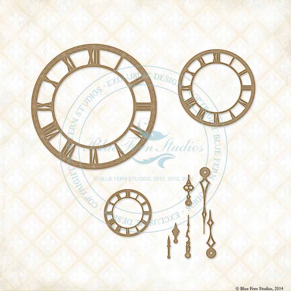 Roman Clock Set - Small