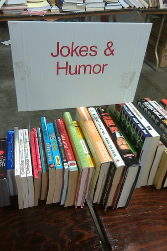 Book sale: jokes & humor