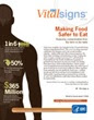 Vital Signs: Food Safety 2011 Cover Page