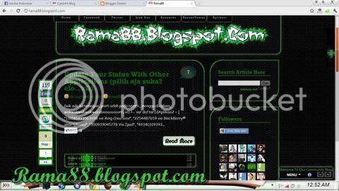 5 Template Blogger Hacker/Hacked   Muhammad Reihan