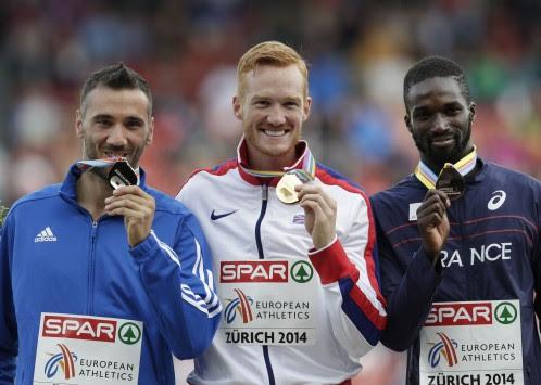"""""""Πέταξε"""" ως το... βάθρο ο Λούης Τσάτουμας! Ασημένιο μετάλλιο στο Ευρωπαϊκό της Ζυρίχης"""