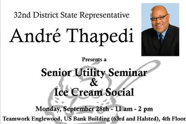 Seniors Can Learn About Getting Help With Utility Bills Over Ice Cream