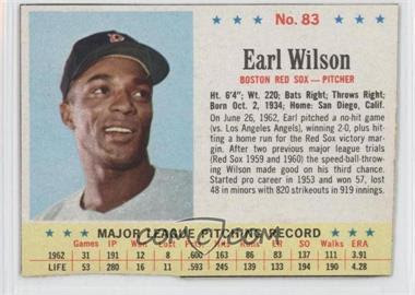 1963 Post #83 - Earl Wilson - Courtesy of CheckOutMyCards.com