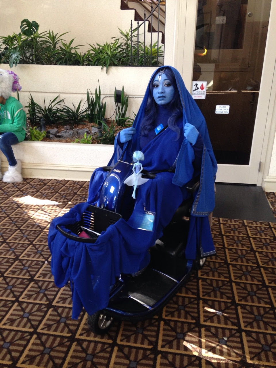 I loved this blue diamond's cosplay so much!