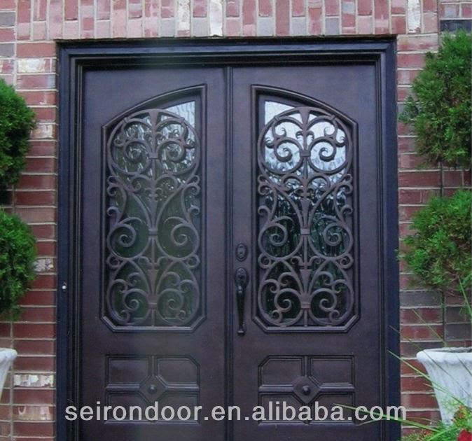 C mo decorar la casa puertas de hierro para exteriores for Puertas de fierro para casas exterior